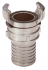 STAINLESS STEEL 1/2 SYMETRICAL CONNECTION WITH BARED FITTING BOLT - 2420