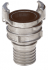 STAINLESS STEEL 1/2 SYMETRICAL CONNECTION WITH BARED FITTING LONG BOLT - 2421