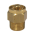 Nickeled-Brass Drain Valve 4mm Square Connection - 1319