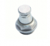 Nickeled-Brass Drain Valve With Handwheel - 1320
