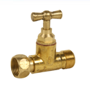 STRAIGHT PLAIN BRASS FLUSH TANK TAP Male/Female - REF 1342